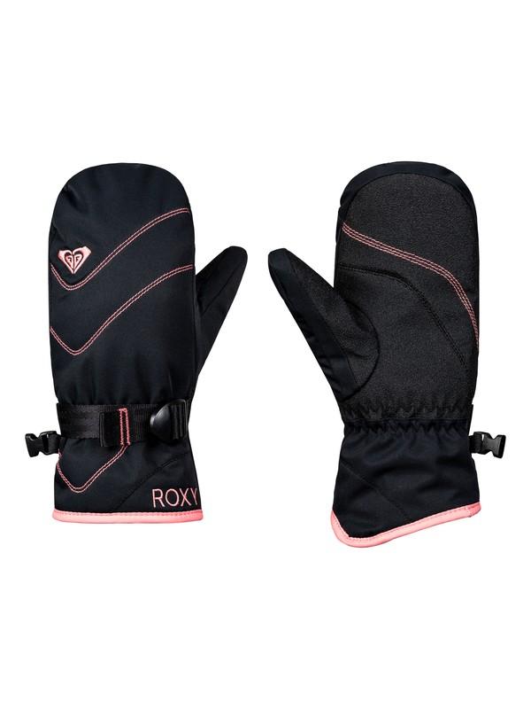 0 Girls 7-14 ROXY Jetty Ski/Snowboard Mittens Black ERGHN03016 Roxy