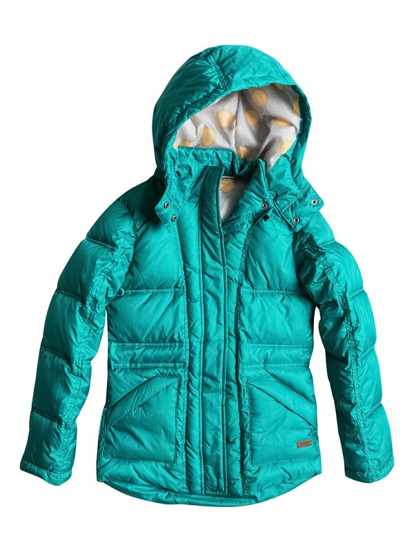 0 Free Style - Fitted Down Jacket  ERGJK03020 Roxy