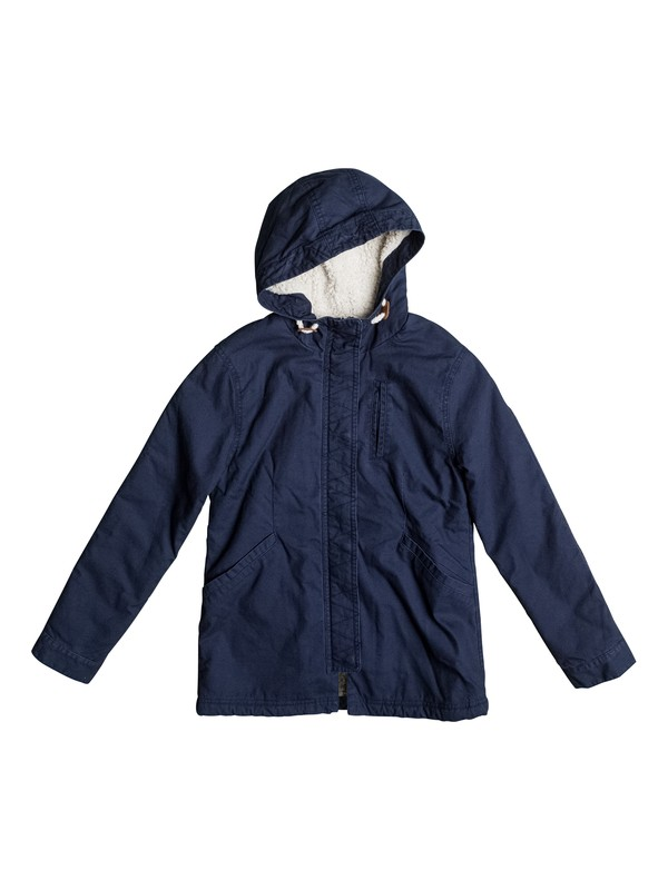 0 European Folklore - Parka Jacket for Girls 8-16  ERGJK03043 Roxy