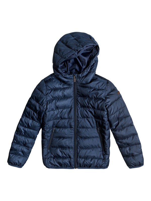 0 Girls 7-14 Question Reason Hooded Puffer Jacket  ERGJK03044 Roxy