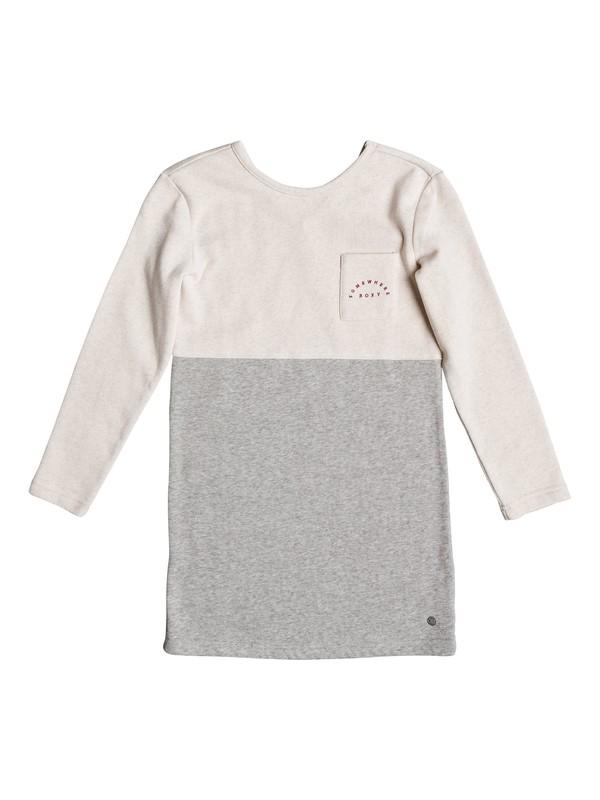 0 Lazy Monday - Long Sleeve Dress Beige ERGKD03041 Roxy
