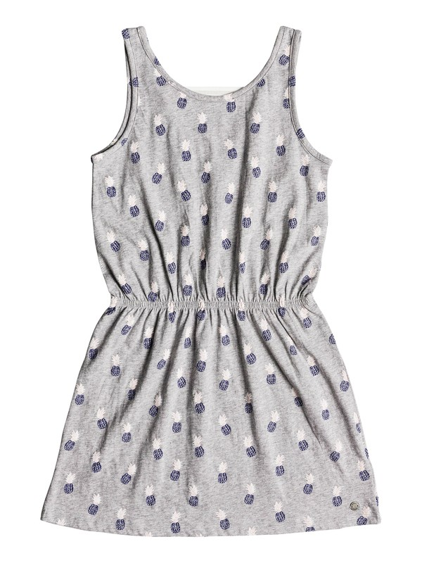 0 Girls 7-14 Fearless Friends Tank Dress Grey ERGKD03052 Roxy