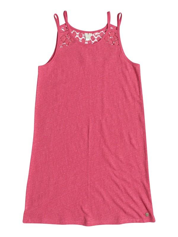0 Girl's 7-14 Bright New Day Strappy Dress Pink ERGKD03054 Roxy