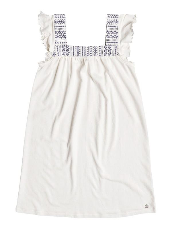 0 Girl's 7-14 Precious Mind Tank Dress White ERGKD03055 Roxy