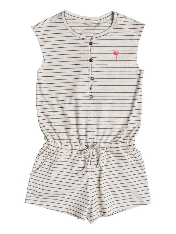 0 Girls 7-14 Big Moments Romper Beige ERGKD03057 Roxy