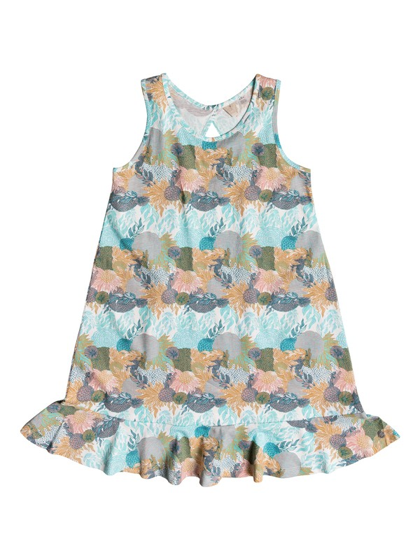 0 Girls 7-14 Mission Bell Tank Dress White ERGKD03058 Roxy