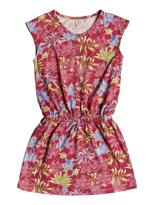0 Girl's 7-14 Only Friend Sleeveless Dress Red ERGKD03073 Roxy