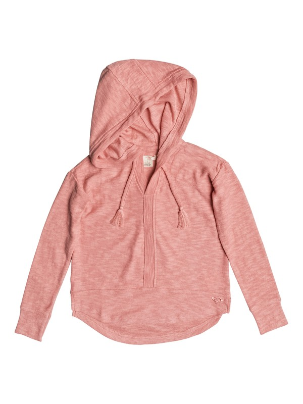 0 Girls 7-14 Lovely Inspy Hooded Long Sleeve Top  ERGKT03041 Roxy