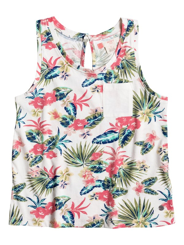 0 Girls 7-14 Blue Prince Tank Top  ERGKT03042 Roxy