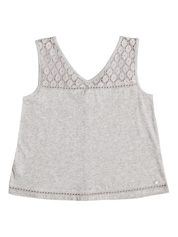0 Girls 7-14 Marvelous Invention Sleeveless Top  ERGKT03061 Roxy