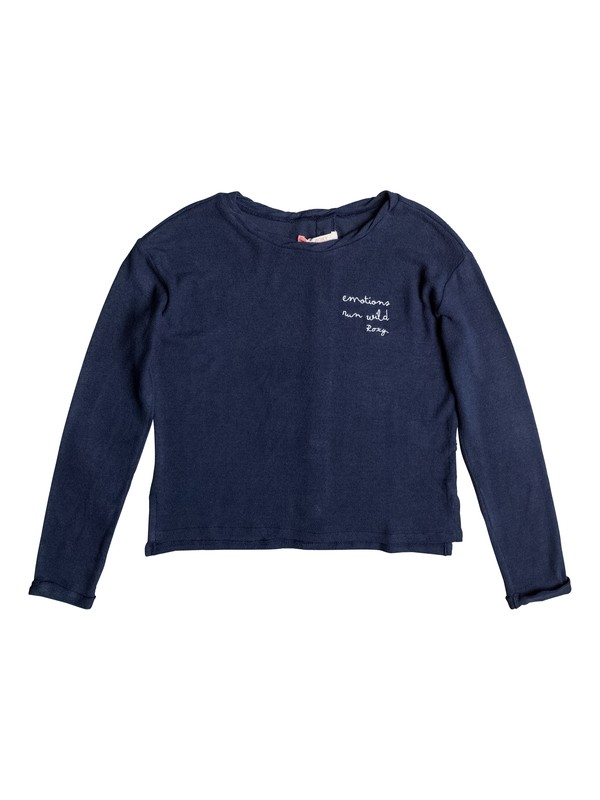 0 Predicting Happiness - Camisola de manga larga abotonada a la espalda para Chicas 8-16  ERGKT03062 Roxy