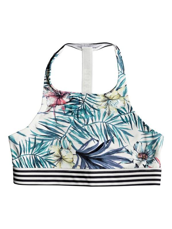 0 Blingbling Surf - Sports Bra Bikini Top for Girls 8-16  ERGKT03065 Roxy