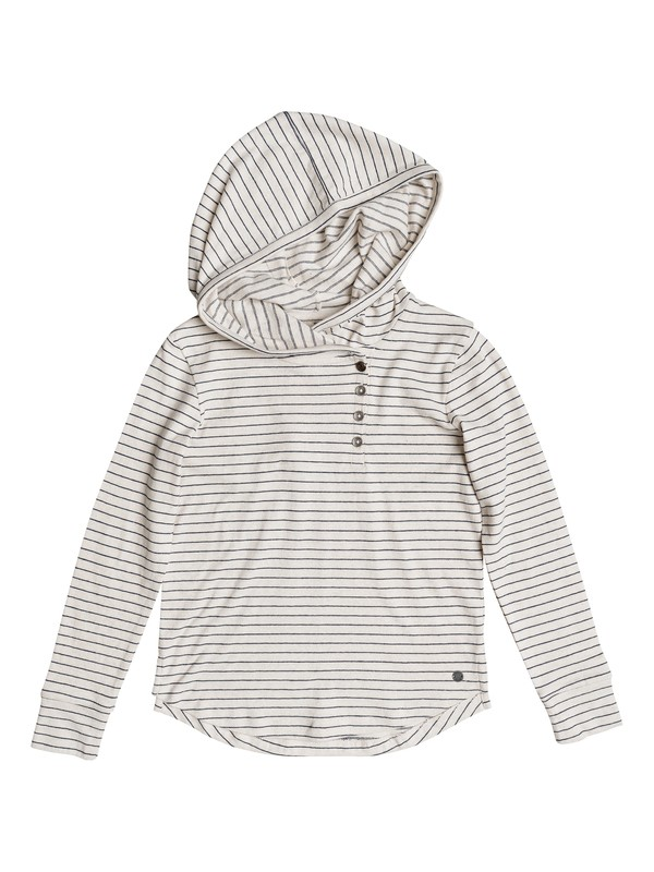 0 Girls 7-14 Pocketful Of Hope  Hooded Top  ERGKT03078 Roxy