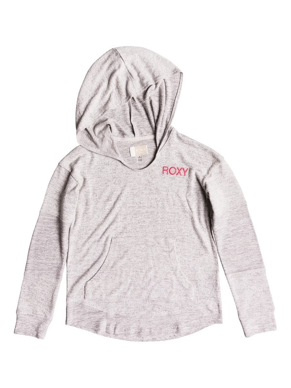 0 Girls 7-14 Key To Happiness  Hooded Top  ERGKT03080 Roxy
