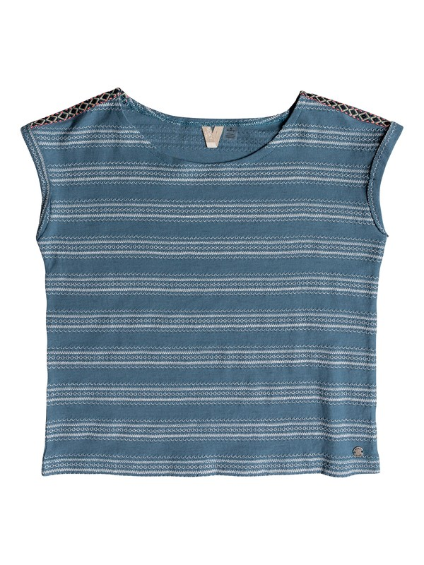 0 Girls 7-14 Warm Dayz Top Blue ERGKT03084 Roxy