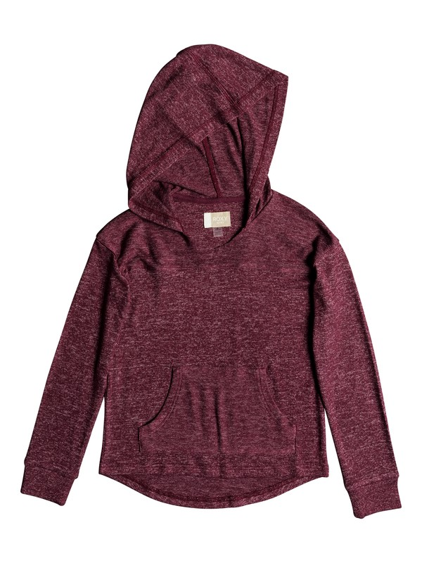 0 Girls 7-14 Love In The Sky Hoodie Red ERGKT03092 Roxy