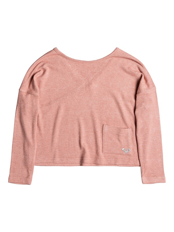 0 Girl's 7-14 Your Time Long Sleeve Top Pink ERGKT03098 Roxy