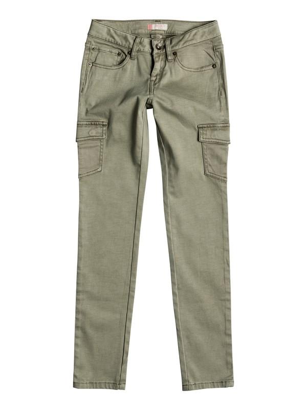 0 Girls 7-14 Cecilcargo Cargo Pants  ERGNP03017 Roxy