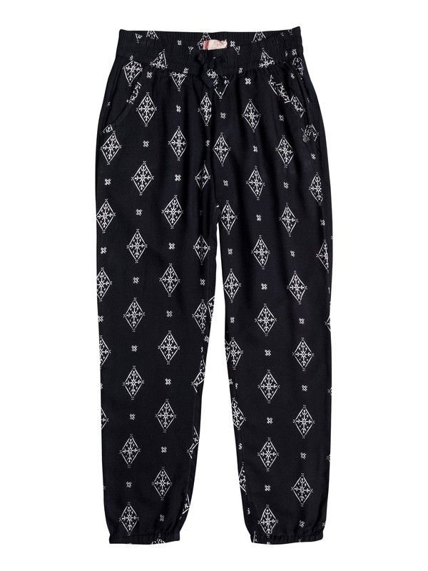 0 Girls 7-14 Daring Creativity Printed Jogger Pants  ERGNP03019 Roxy