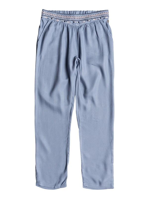 0 Girls 7-14 Lovely Stories Beach Pants Blue ERGNP03030 Roxy