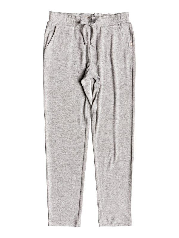 0 Girl's 7-14 Breath A New Day Joggers Grey ERGNP03036 Roxy