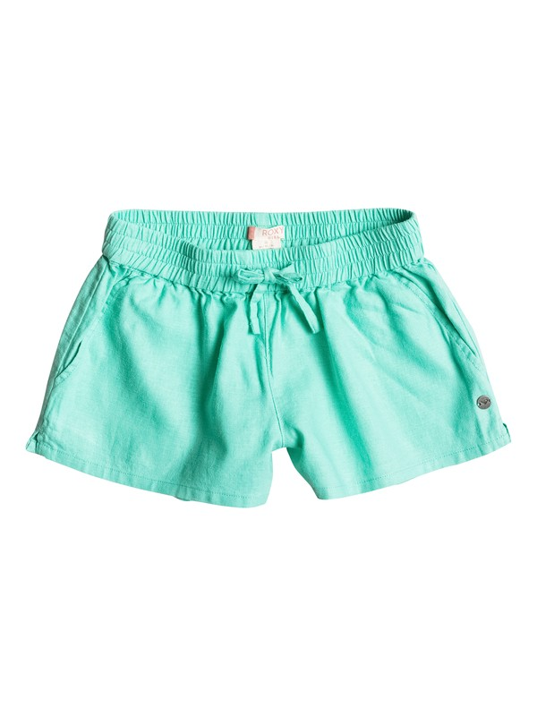 0 Girls 7-14 Color Into Eyes Beach Shorts  ERGNS03012 Roxy
