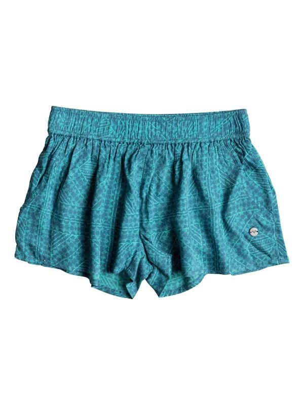 0 Girls 7-14 Something I Will Believe Beach Shorts  ERGNS03013 Roxy