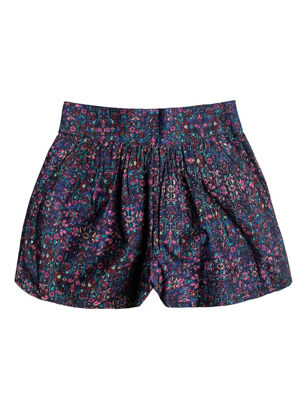 0 Girls 7-14 Wreath Of Daisies Printed Shorts  ERGNS03022 Roxy
