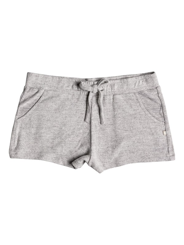 0 Girls 7-14 Summer Carnival Lounge Shorts Grey ERGNS03028 Roxy