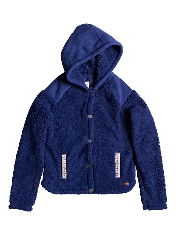 0 Oats To Water - Plüsch-Fleece-Jacke  ERGPF03008 Roxy
