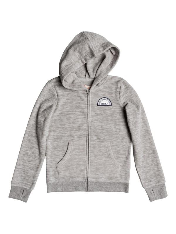 0 Colorful Matter - Zip-Up Hoodie Grey ERGPF03010 Roxy