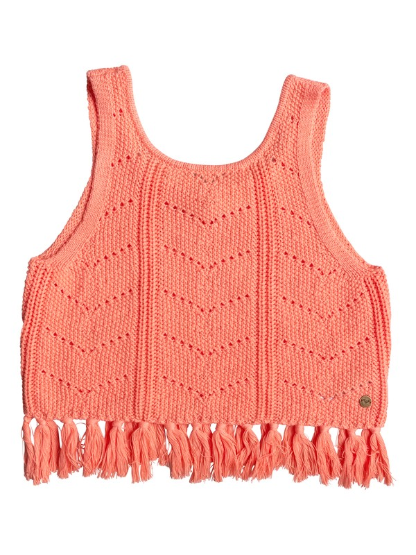 0 Girls 7-14 Set Them Free Crochet Top  ERGSW03034 Roxy