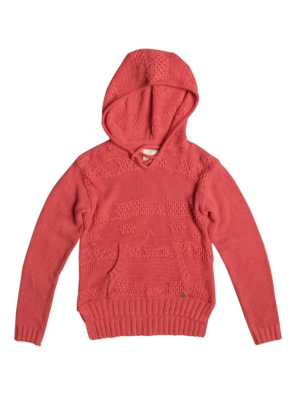 0 Soft Snowflake - Hooded Sweatshirt Pink ERGSW03036 Roxy