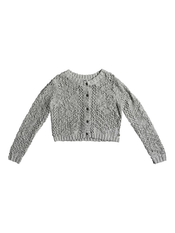 0 Girl's 7-14 High Friendship Cropped Cardigan  ERGSW03039 Roxy