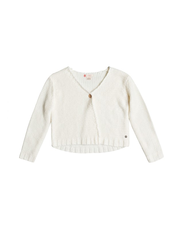 0 Girl's 7-14 Unreflecting Love Knitted Cardigan  ERGSW03041 Roxy