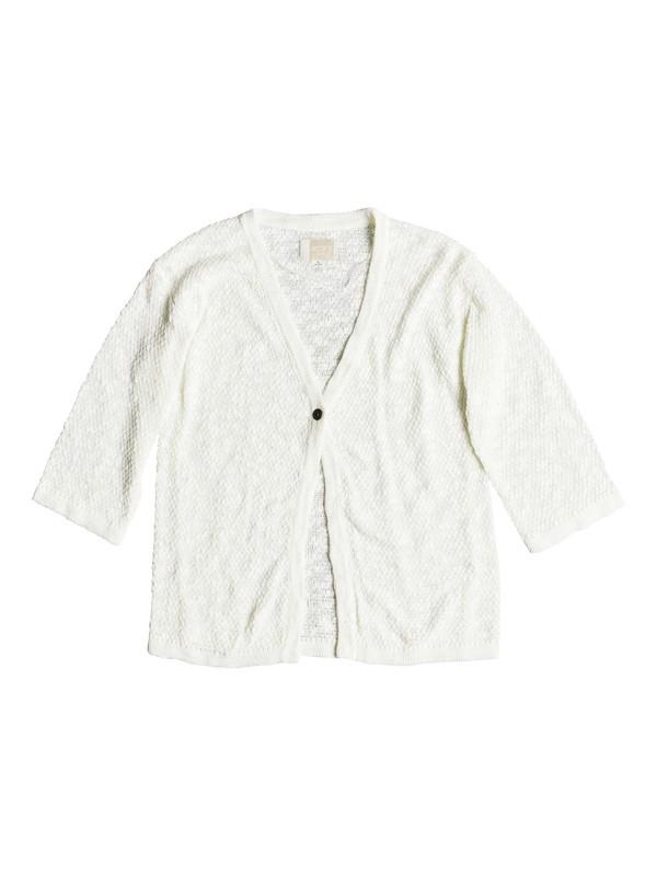 0 Livin Sunday - Cardigan pour Fille 8-16 ans Blanc ERGSW03043 Roxy