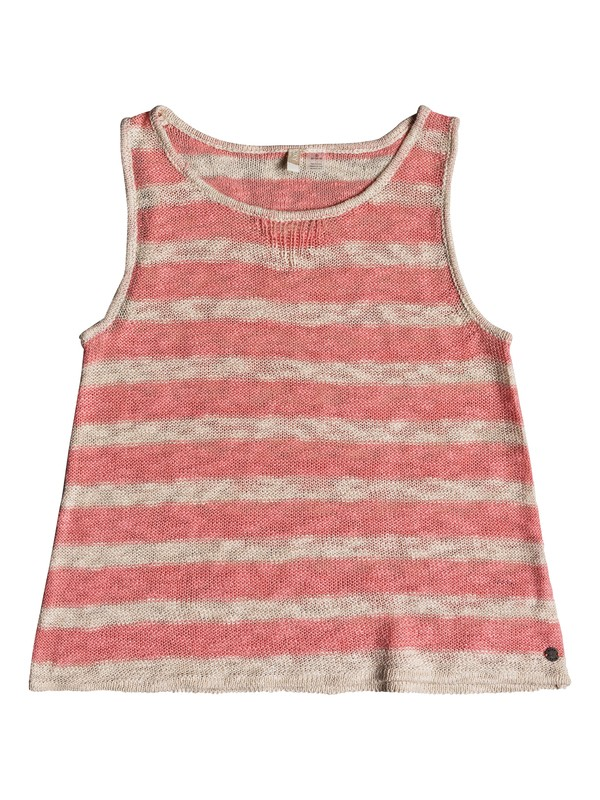 0 Girl's 7-14 Nice Surprise Sleeveless Knitted Top Pink ERGSW03044 Roxy