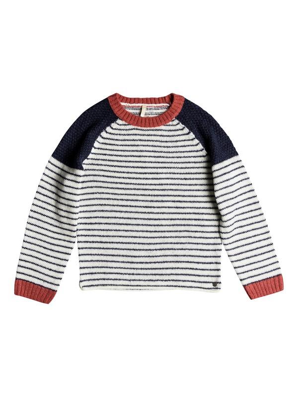 0 Girl's 7-14 Halcyon Birds Sweater Blue ERGSW03045 Roxy