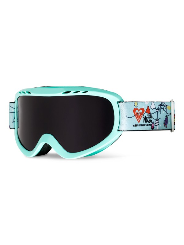 0 Sweet Little Miss - Snowboard/Ski Goggles for Girls 8-16  ERGTG03006 Roxy