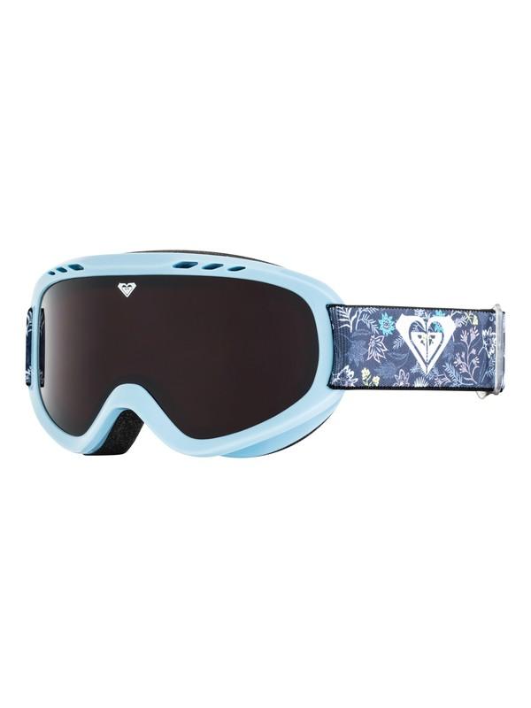 0 Sweet - Máscara para esquí/snowboard para Chicas 8-16 Azul ERGTG03009 Roxy