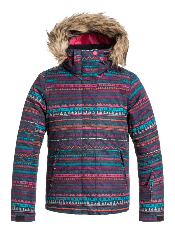 0 Girl's 7-14 American Pie Snow Jacket  ERGTJ03003 Roxy