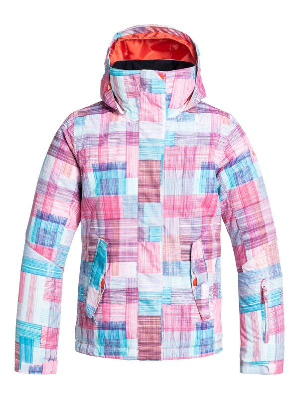 0 Girl's 7-14 Jetty Snow Jacket  ERGTJ03004 Roxy