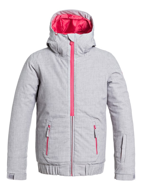 0 Girl's 7-14 Valley Hoodie Snow Jacket  ERGTJ03005 Roxy