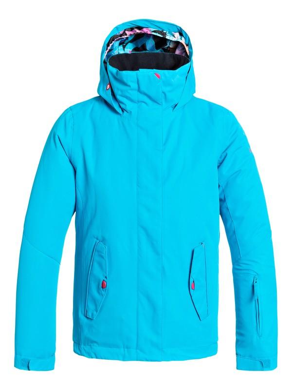 0 Girl's 7-14 Jetty Solid Snow Jacket  ERGTJ03006 Roxy