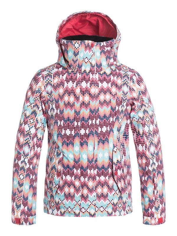 0 Girls 7-14 ROXY Jetty Snow Jacket  ERGTJ03011 Roxy