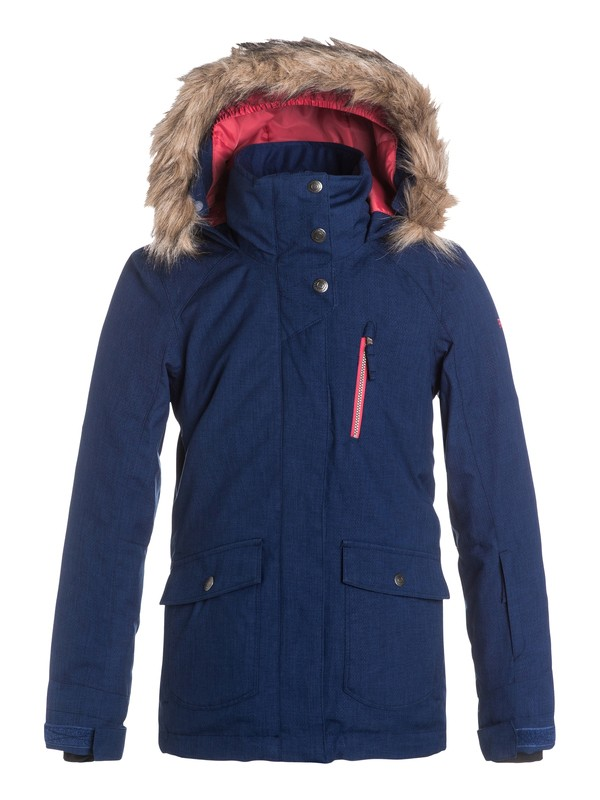 0 Girls 7-14 Tribe Snow Jacket  ERGTJ03014 Roxy