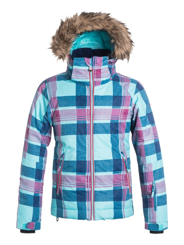 0 Girls 7-14 American Pie Snow Jacket  ERGTJ03019 Roxy
