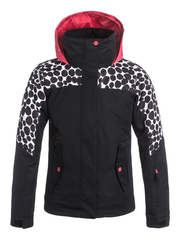 0 Girls 7-14 ROXY Jetty Colorblock Snow Jacket  ERGTJ03021 Roxy