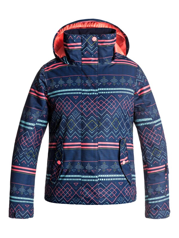 0 Сноубордическая куртка ROXY Jetty Синий ERGTJ03033 Roxy