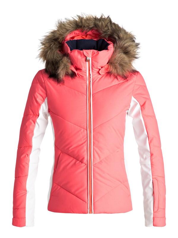 0 Snowstorm - Snow Jacke Orange ERGTJ03038 Roxy